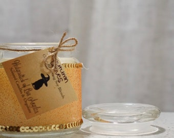 Autumn Leaves 16 Oz Glass Candle