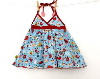 """Tunic baby / child """"and large (18/24 months and 3/4 years)"""""""