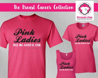 Breast Cancer Shirts: Pink Ladies Design • Breast Cancer Awareness • Pink Ribbon • Breast Cancer Fighter