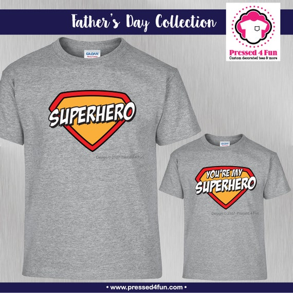 Fathers Day Gift - Gifts for Dad - Superhero Dad - Father Son Gift - Father  Daughter Gift