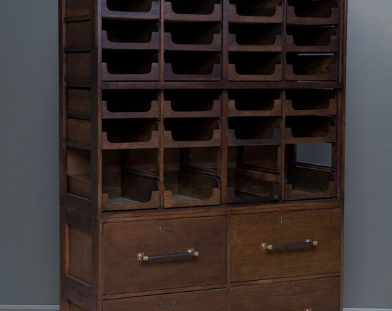 Vintage haberdashery cabinet - 4 drawer
