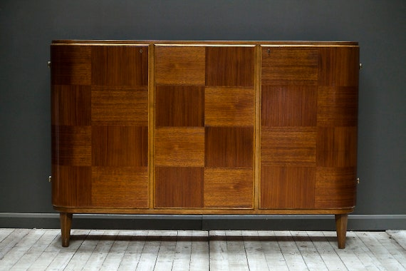 A mid century modern scandinavian cabinet and sideboard by Carl Axel Acking for Bodafors