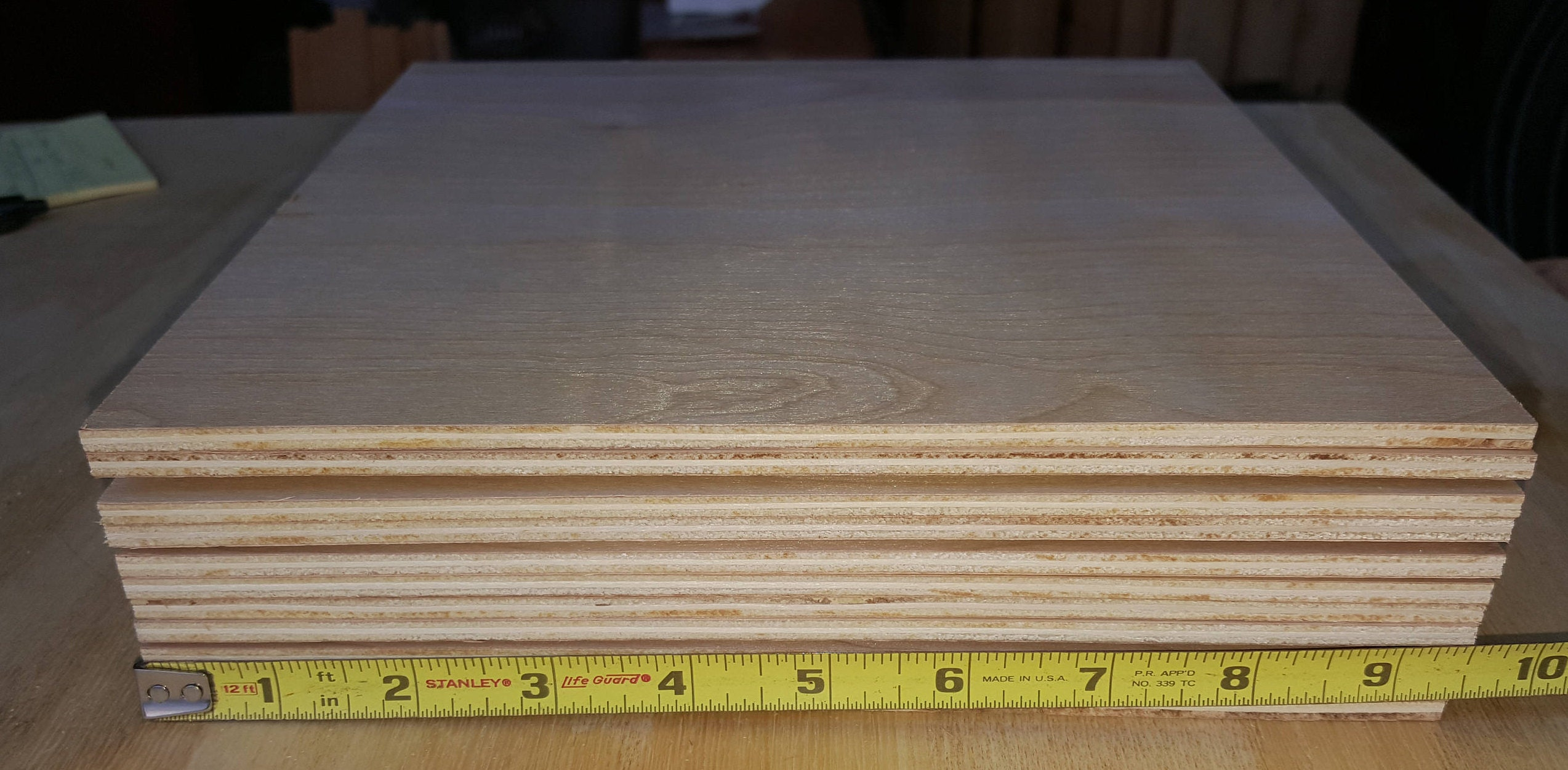 Maple Plywood Squares 9 12 Square X 316 Thick Etsy