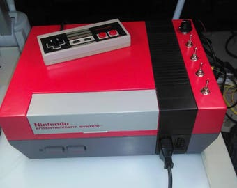 Circuit bent NES - Glitch visuals