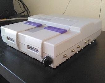 Circuit bent SNES super Nintendo