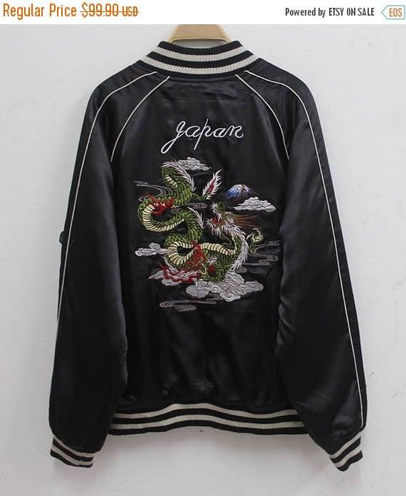 Sukajan jacket Vintage Sukajan Japanese Tradition… - image 1