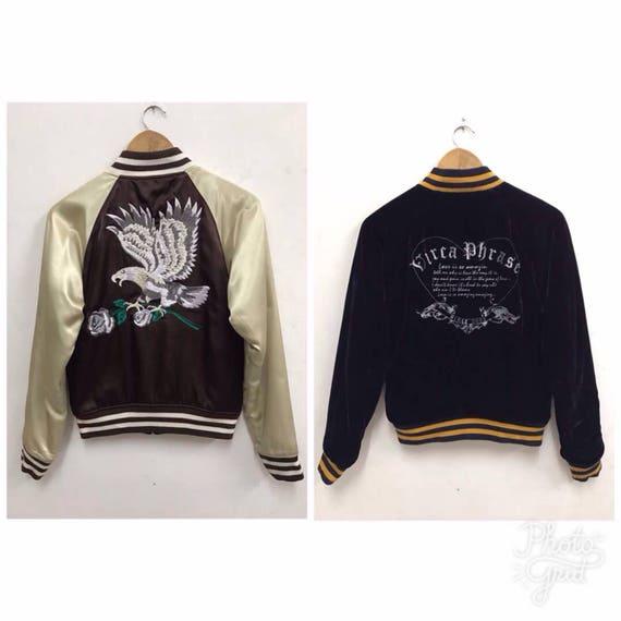 Sukajan jacket Vintage Sukajan Riversible Jacket E