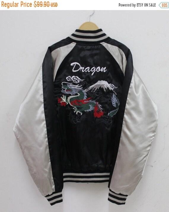 Sukajan jacket Vintage 90's Sukajan Japanese Embro
