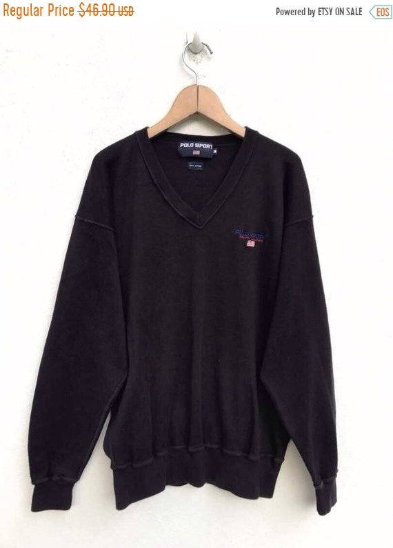 Polo Sport Sweatshirt Ralph Lauren Sweater Vintage