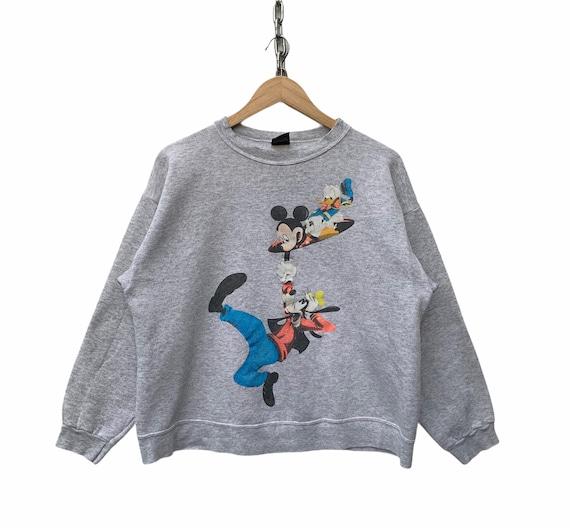 Vintage 90s Mickey Mouse Sweatshirt Walt Disney Sw