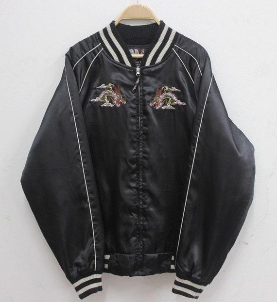 Sukajan jacket Vintage Sukajan Japanese Tradition… - image 2