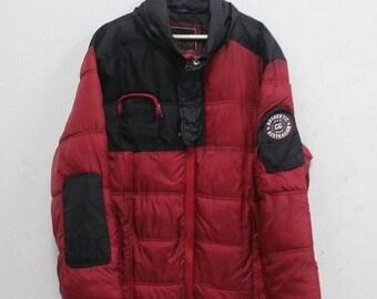 20% Off Vintage Coogi Red Ski Hip Hop Ski Hipster Snow Jacket L