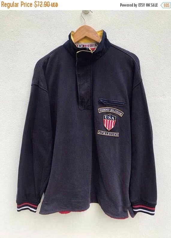 Vintage 1990s Tommy Hilfiger Athletics Sneakers 90s