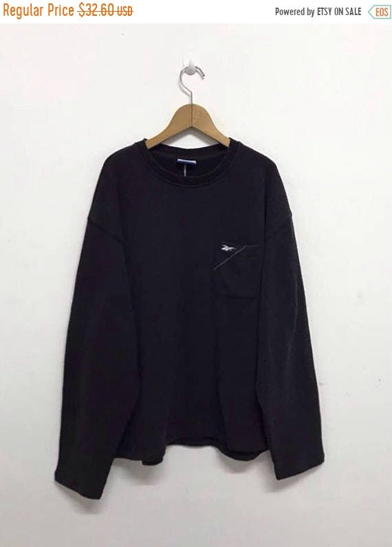 58a8cf1d177cf Reebok Sweatshirt Vintage Reebok Sweatshirt Reebok Pull Over   Etsy