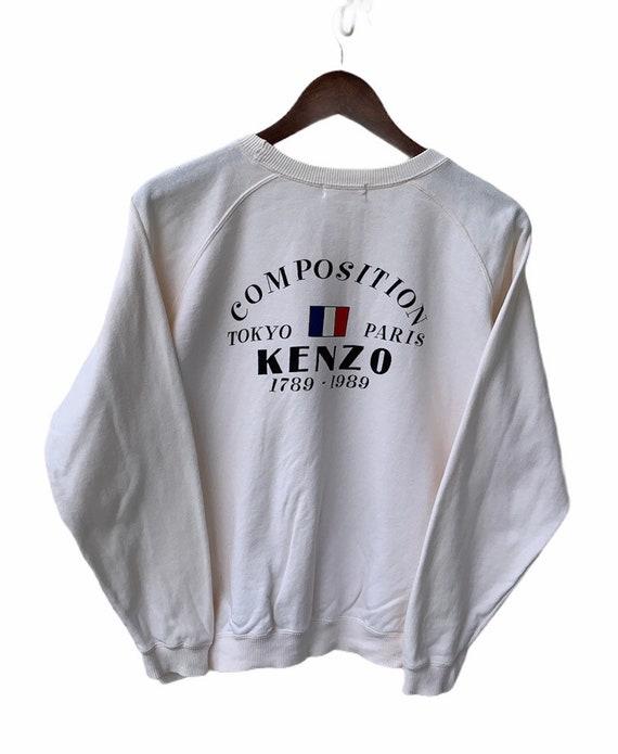 Kenzo Sweater Vintage Kenzo Sweatshirt Kenzo Spell