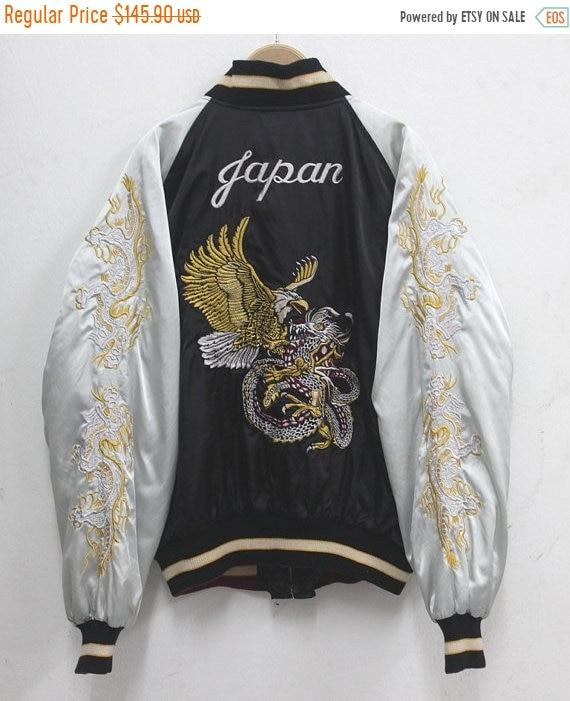 Sukajan jacket Vintage Sukajan Jacket Eagle Dragon