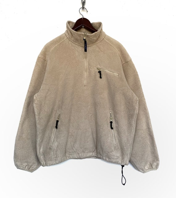 LL Bean Fleece Jacket Vintage LL Bean Fleece Pullo