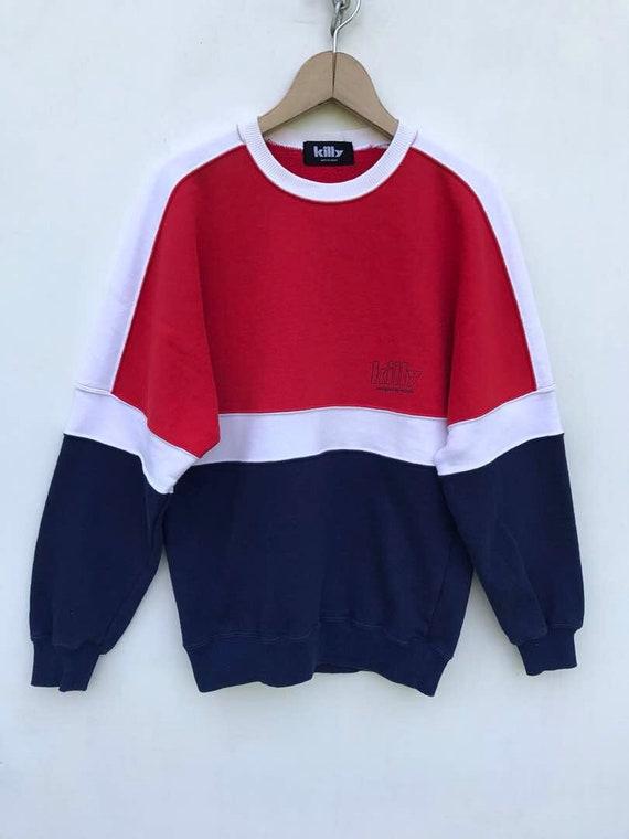 Rare !! Vintage Asics Sweatshirt Embroidery Small Logo Crewneck Size 160 #A4 qcSjeFcRxq