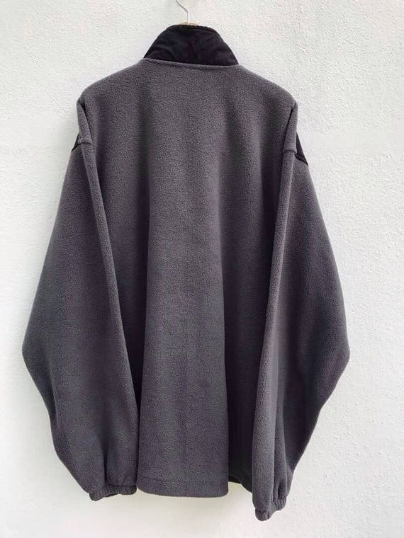 Champion Sweater Vintage Champion Fleece Jacket 9… - image 2
