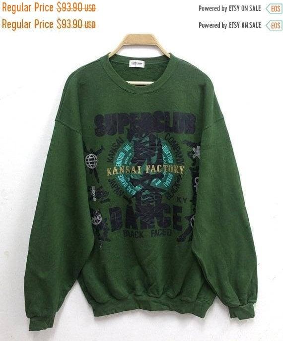 Vintage KANSAI YAMAMOTO Sweatshirt 90s Kansai O2 J