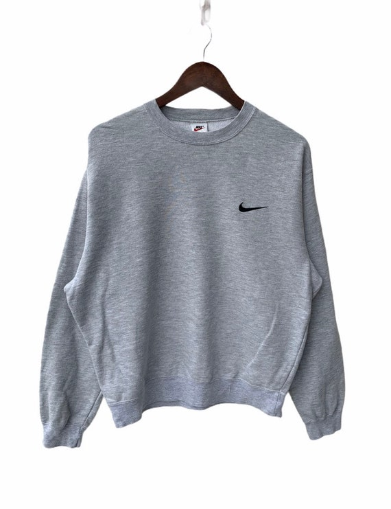 Vintage Nike Sweatshirt Nike Big Logo Swoosh Stree