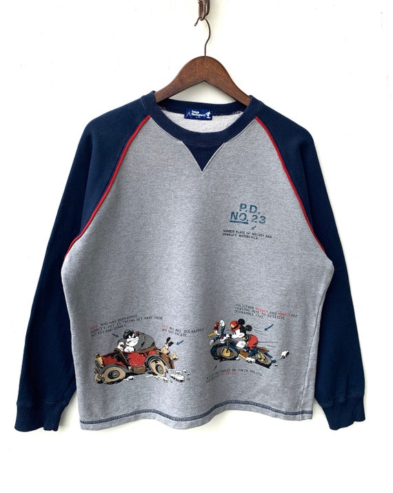 Vintage Mickey Mouse Sweatshirt Walt Disney Sweate