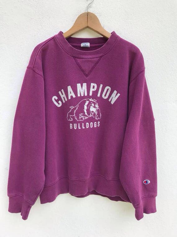 Champion Sweatshirt Vintage Champion Big Logo Swea