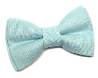 Pet Bow Tie, Cat Bow tie, Dog Bowtie, Pastel Mint, Wedding