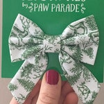 Pet Bow, Cat Bow, Dog Bow, Christmas Floppy Bow, bowtie, bow tie, Cute, Paw Parade, Pet Accessories, Cat Collar, Cats, Cat Gift, Dog Gift