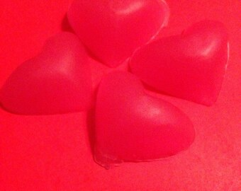 Small Olive Oil Heart Soaps
