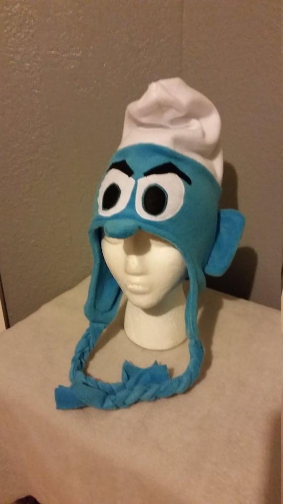 Smurfs with Cakes Fleece Scarf