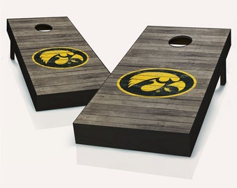 Iowa state cornhole set of 2 decals Made in USA #1 Free shipping