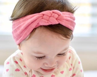 d18c5926e0adf Girly Girl Sailor Knot Set of 3- sailor knot baby headband