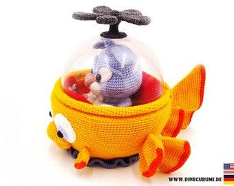 Fishmarine crochet pattern amigurumi