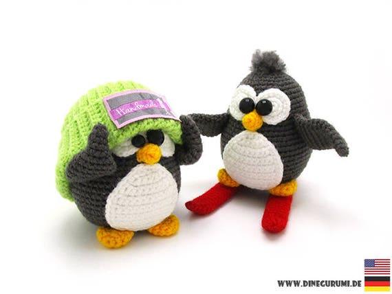 Pinguine Amigurumi Häkelanleitung