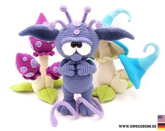 Nucknuck crochet pattern amigurumi