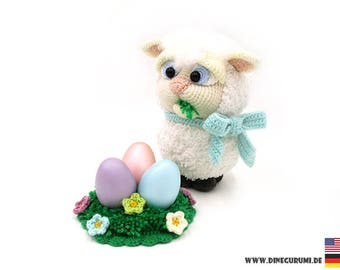 Little lamb crochet pattern amigurumi