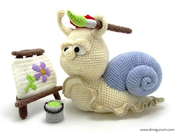 Lady snail amigurumi pattern - Amigurumi Today - Amigurumi Crochet ...   428x570