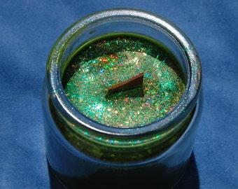 Freyr Devotional Deity Soy Glitter Candle – frey – norse god – vanir – vanaheim - heathen