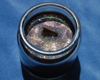 Anubis Devotional Deity Soy Glitter Candle – anpu – yinepu – egyptian god – neteru – netjer – kemetic