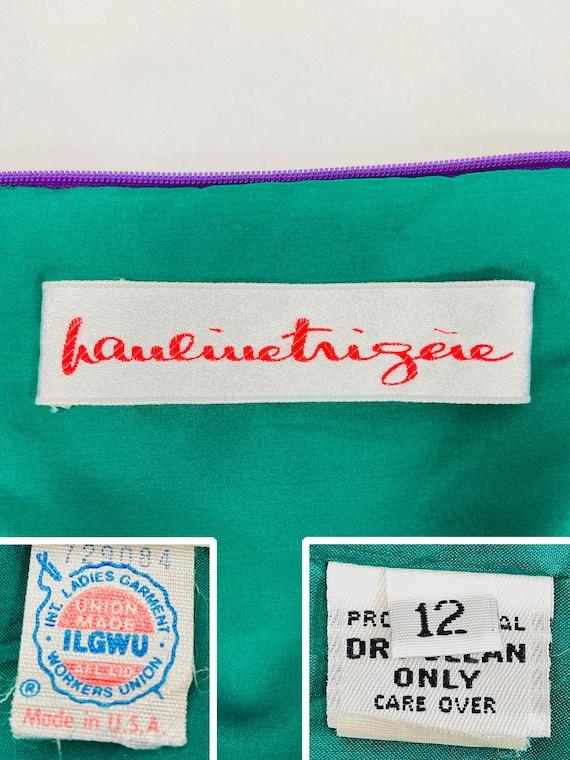 Pauline Trigere Dress, Designer Vintage Dresses, … - image 9
