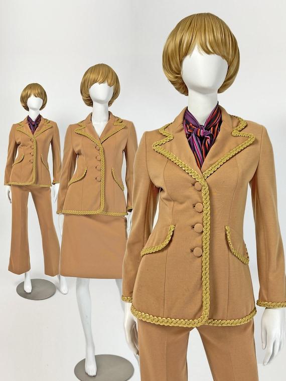 Vintage 60s Lilli Ann Suit, Mod Pantsuit, 60s Skir