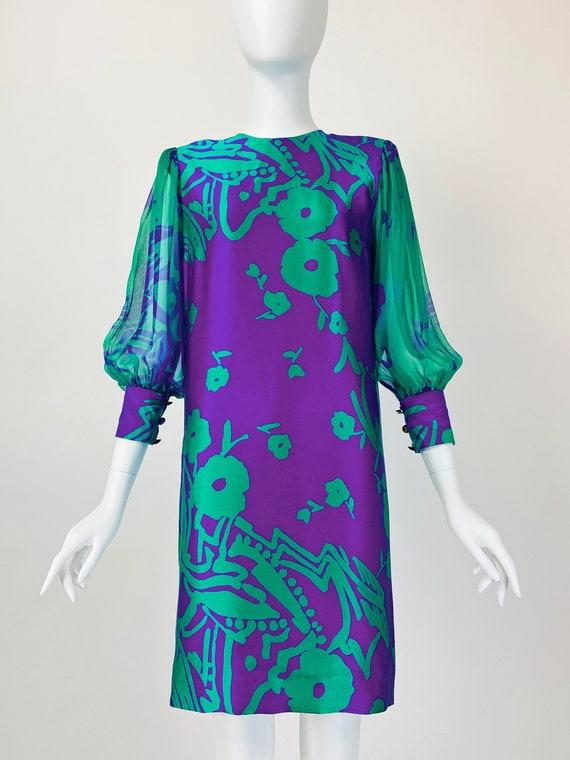 Pauline Trigere Dress, Designer Vintage Dresses, … - image 2
