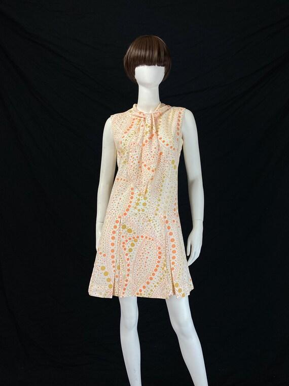 Vintage 60s Scooter Dress, 60s Playsuit, Playsuit