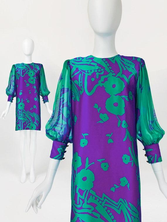 Pauline Trigere Dress, Designer Vintage Dresses, … - image 1