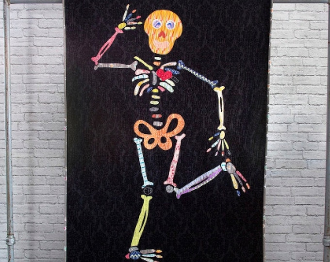 """Seymour Bones from Fresh Designs from a Wyoming Farm 40"""" x 60"""" Pattern Only"""