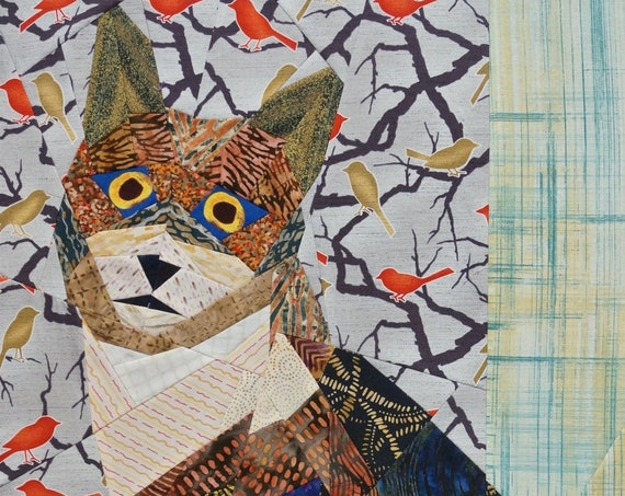 Meow by Ann Shaw Quilting Designs Pattern Only