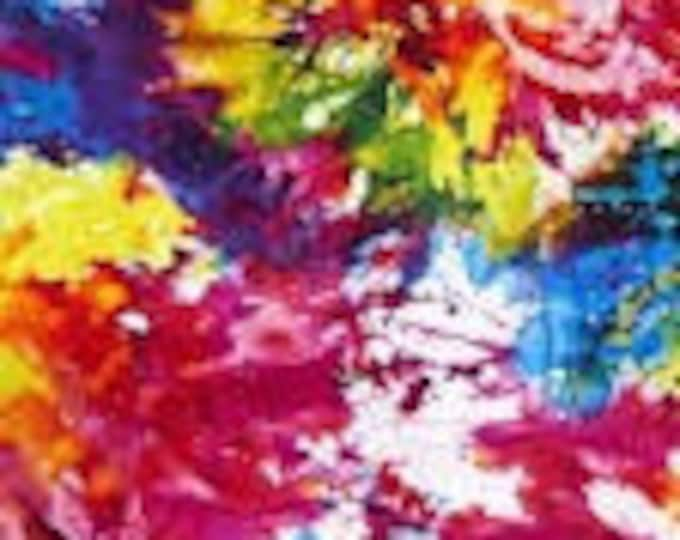 WIDEBACK Splash by Henry Glass 108-inch Extra Wide Cotton Fabric Yardage Backing Fabric