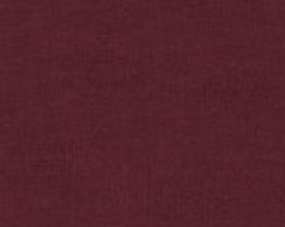 "Melange Basics Wine from Stof Fabrics From Denmark 4509-413 44"" Wide 100% Cotton"