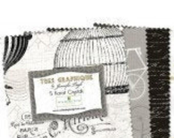 """Tres Graphique By Wilmington Prints  - 40  5"""" squares 100% cotton"""